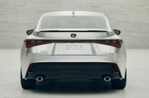 New IS Rear Style