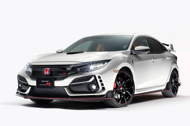 Minor changed Civic Type R FK8