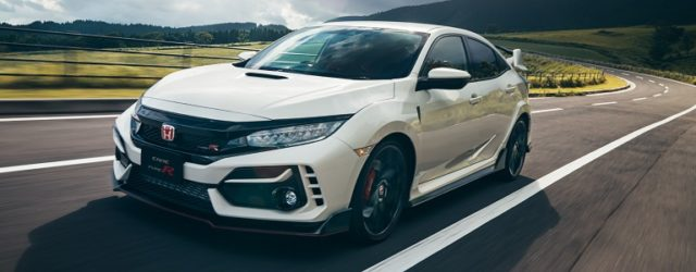 Minor changed civic type R FK8 Ver. Japan