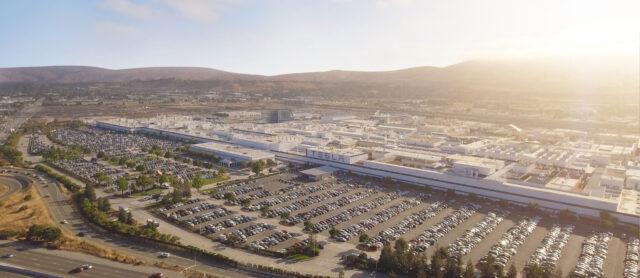 Tesla Factory in Freemont