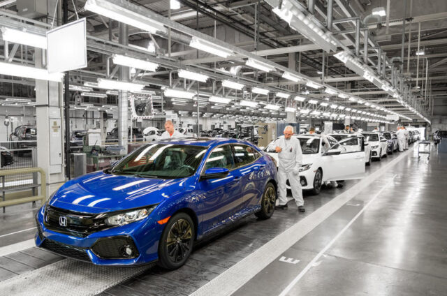 Honda of the UK Swindon factory